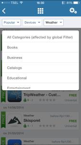 Kategori Aplikasi